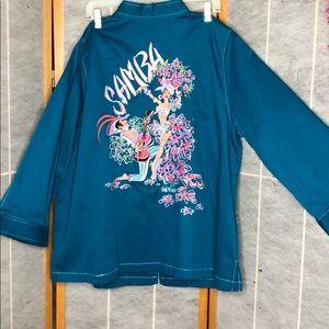 Bob Mackie Embroidery Jacket